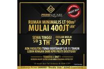 Rumah Prime Square Sidoarjo Strategis Minimalis start 400jt'an