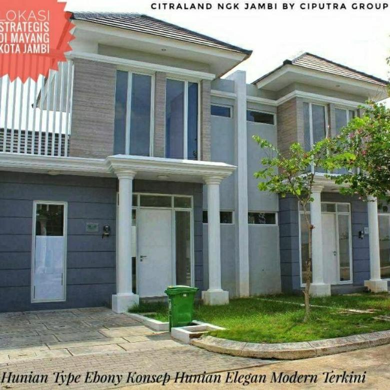 Rumah Type Ebony Modern Minimalis Di Citraland Ngk Mayang Jambi