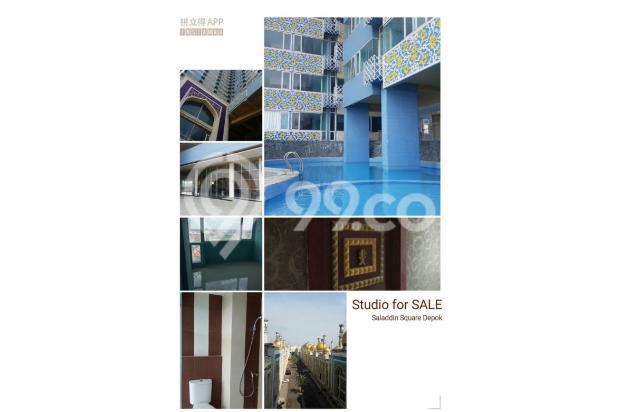 Apartemen Saladin Square Depok, type studio - lokasi strategis - P3.133 16747535