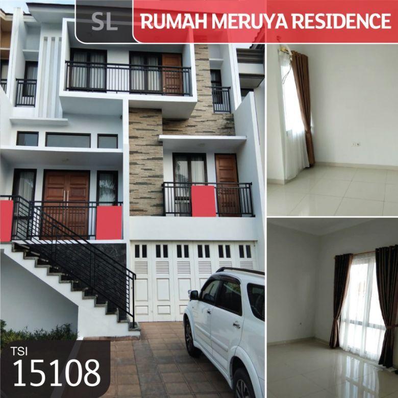 Rumah Meruya Residence, Kembangan, Jakarta Barat, 162 m², 3½ L