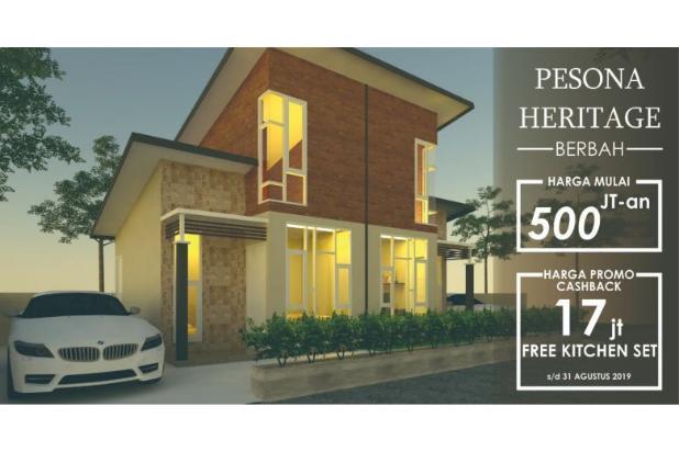 Rp589jt Rumah Dijual