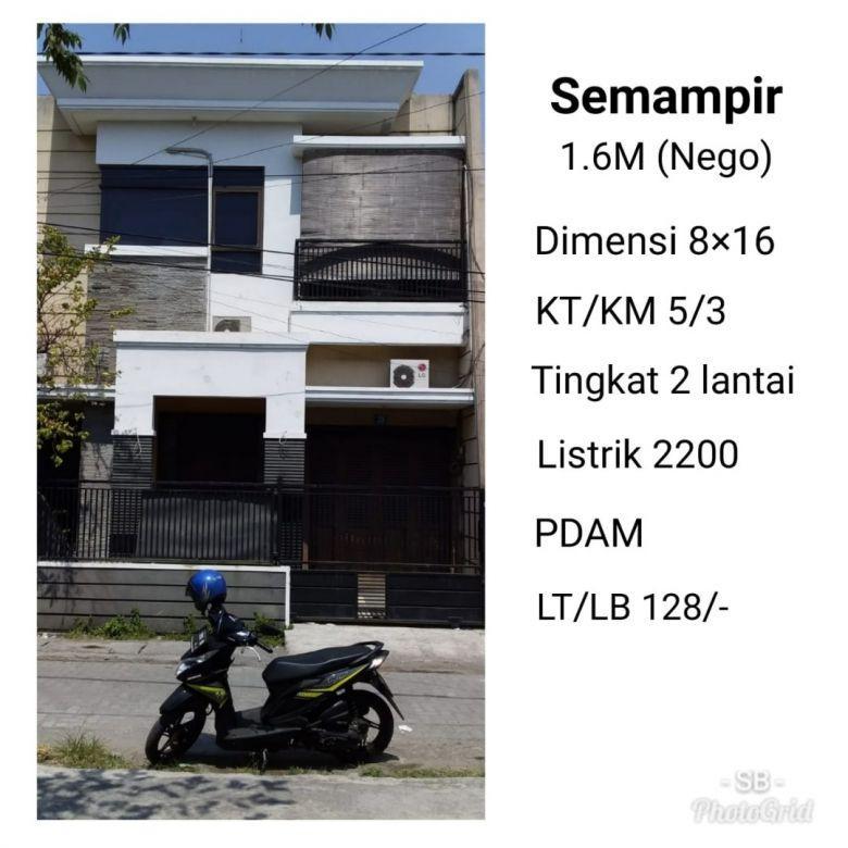 Rumah Semampir Surabaya Nego