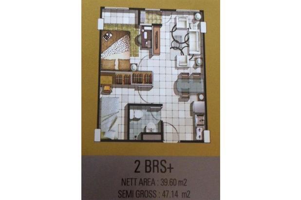 Rp448jt Apartemen Dijual