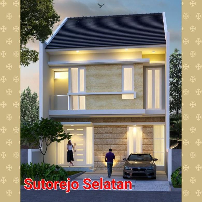 Rumah mulyosari tengah surabaya timur, bangunan baru