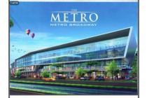 ruko metro broadway PIK disewakan gandeng 2