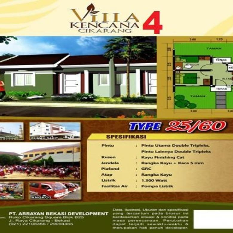 Perumahan Villa Kencana Cikarang Di Bekasi Jawa Barat Indonesia