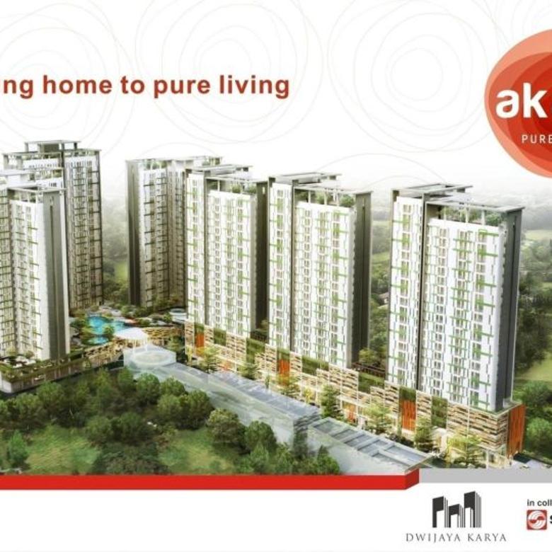 Apartemen Ready Fasilitas Lengkap, Akasa Kalyana BSD City