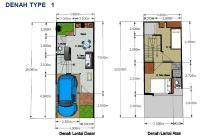 cari rumah 2 Lantai di Kuwukan Surabaya Barat Rp. 525 juta