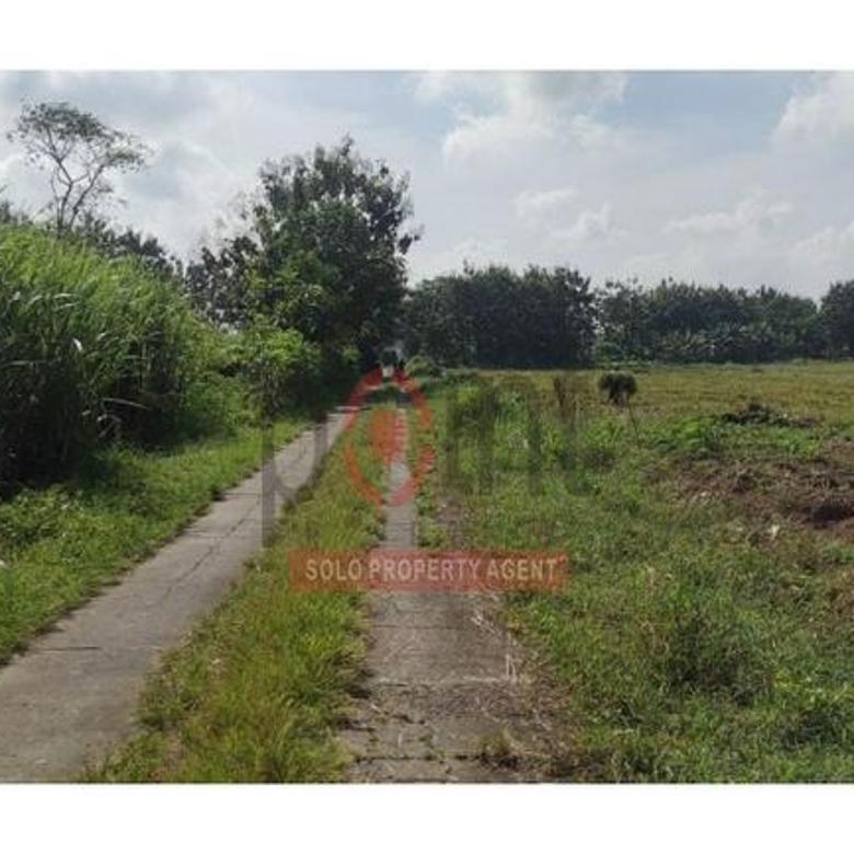 Tanah Pekarangan di Gagaksipat Boyolali (HH)