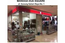 Kios di Jual di Mangga 2 Square 4 Unit Gandeng