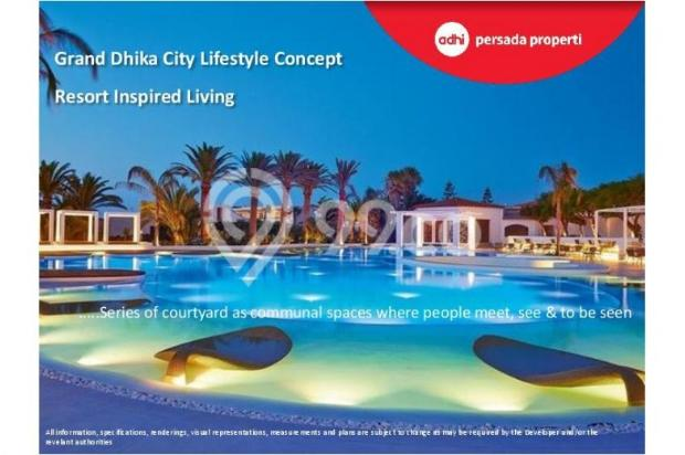 CRAZY PROMO!!! (Klik) Dijual Apartemen Baru 2BR di Grand Dhika City Bekasi 12934606