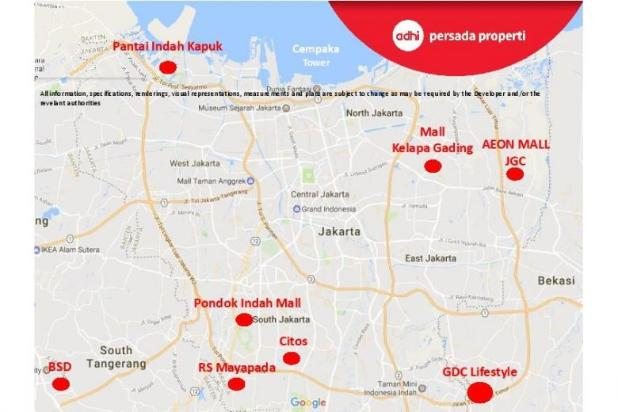 CRAZY PROMO!!! (Klik) Dijual Apartemen Baru 2BR di Grand Dhika City Bekasi 12934604
