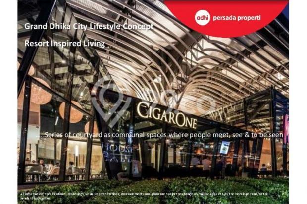 CRAZY PROMO!!! (Klik) Dijual Apartemen Baru 2BR di Grand Dhika City Bekasi 12934610
