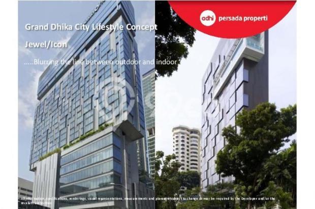 CRAZY PROMO!!! (Klik) Dijual Apartemen Baru 2BR di Grand Dhika City Bekasi 12934609