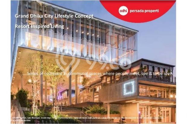 CRAZY PROMO!!! (Klik) Dijual Apartemen Baru 2BR di Grand Dhika City Bekasi 12934607