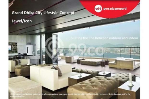 CRAZY PROMO!!! (Klik) Dijual Apartemen Baru 2BR di Grand Dhika City Bekasi 12934612
