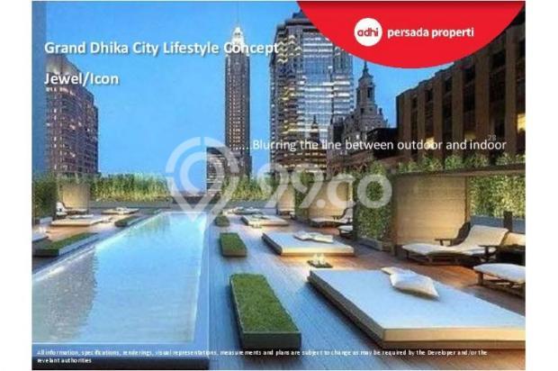 CRAZY PROMO!!! (Klik) Dijual Apartemen Baru 2BR di Grand Dhika City Bekasi 12934611