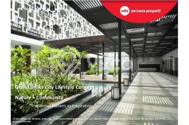 CRAZY PROMO!!! (Klik) Dijual Apartemen Baru 2BR di Grand Dhika City Bekasi 12934613