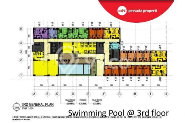 CRAZY PROMO!!! (Klik) Dijual Apartemen Baru 2BR di Grand Dhika City Bekasi 12934631