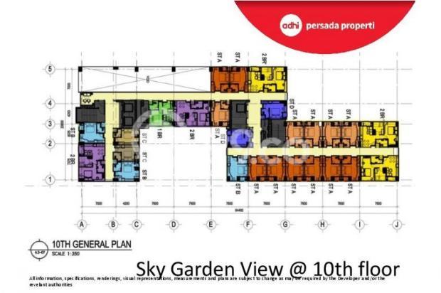CRAZY PROMO!!! (Klik) Dijual Apartemen Baru 2BR di Grand Dhika City Bekasi 12934633