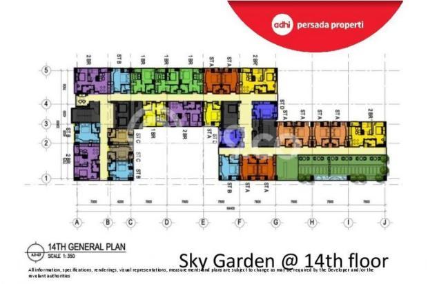 CRAZY PROMO!!! (Klik) Dijual Apartemen Baru 2BR di Grand Dhika City Bekasi 12934634