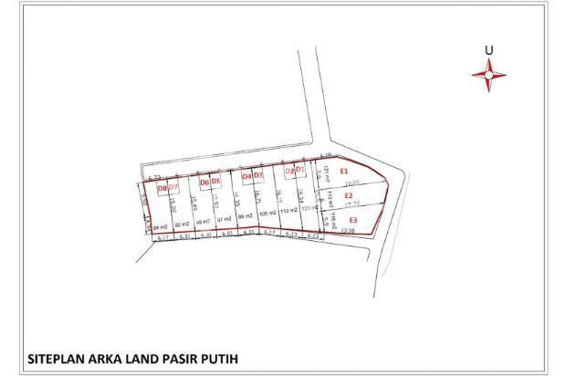 Tanah Kapling 100-an Meter, SHM, 12 X Bertahap 17150089