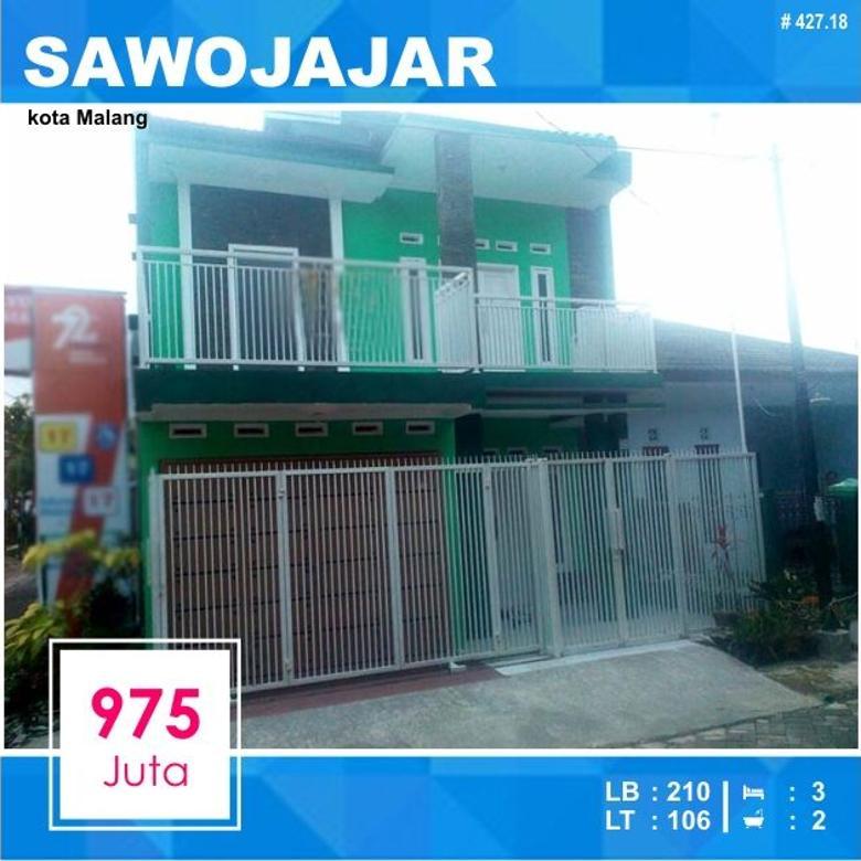 Rumah Murah di Sawojajar kota Malang _ 427.18