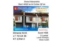 Rumah Grand Alexandria Puri Surya Jaya Sidoarjo cicilan 2jtan