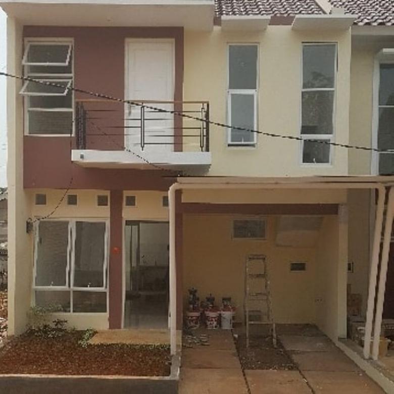 Rumah Hook Lokasi Strategis di Graha Praban Bintaro