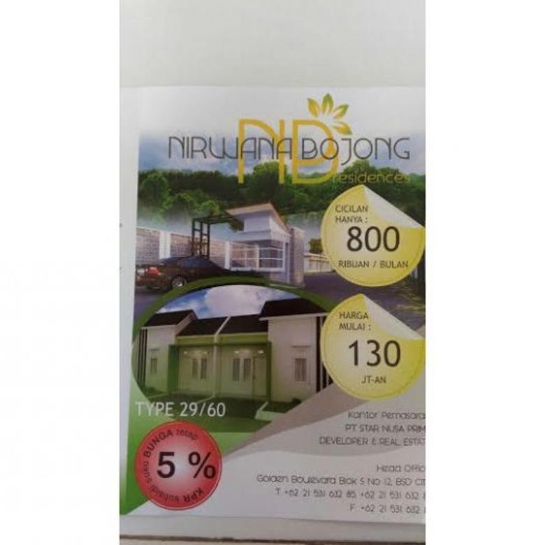 Dijaul Rumah Subsidi Nyaman Asri di Nirwana Bojong Residence Bogor