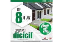 DP Rumah SIAP HUNI CUMA 8 Jtan di Lokasi Strategis Banjaran