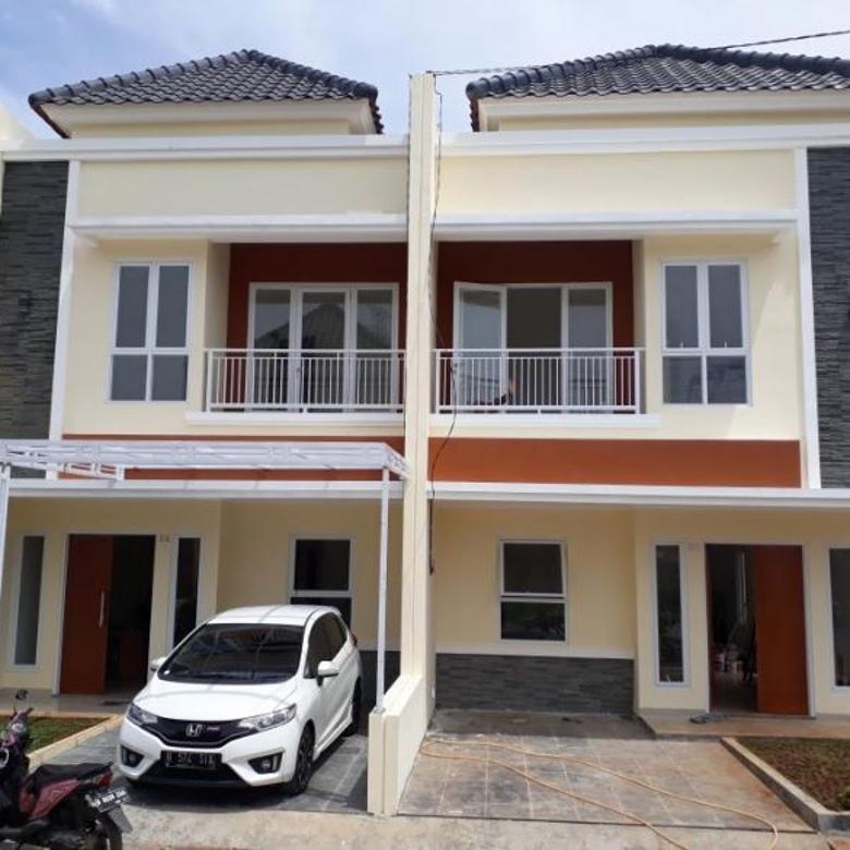 Rumah Siap Huni Di Pancoran Mas Depo Cukup Dp 75 Juta Langsung Akad Kredit