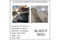 Rumah Siap Huni Ploso Timur Surabaya HARGA NEGO