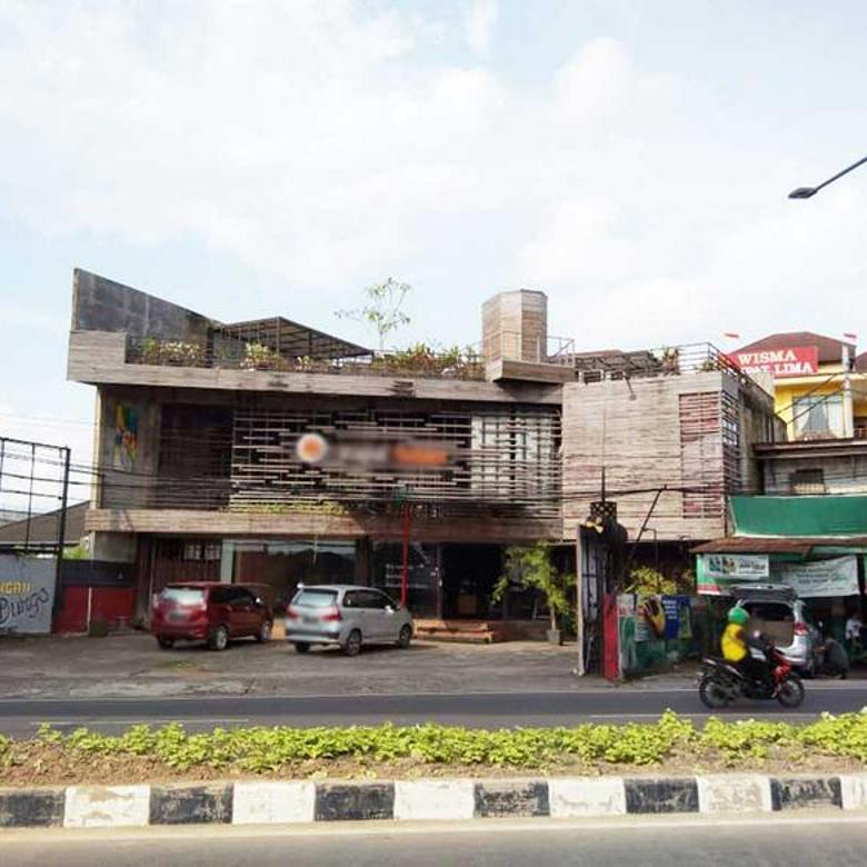 New Listing Tempat Usaha Eks Resto di Jl. Angkatan 45 Palembang