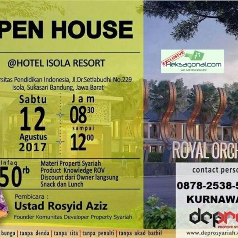 Rumah dua tingkat Dijual ROYAL ORCHID CIPAGERAN CIMAHI JABAR HKS3285