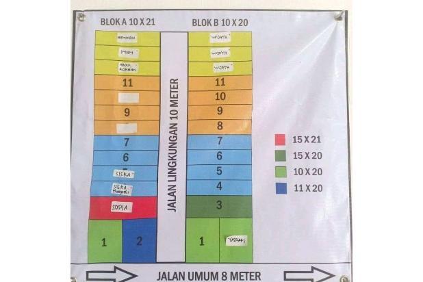 Rp15jt Tanah Dijual