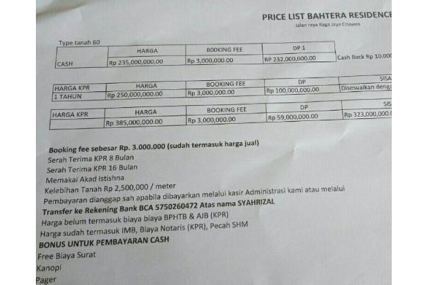 Rumah Syariah Tanpa BI Checking dan Tanpa Riba 17341494