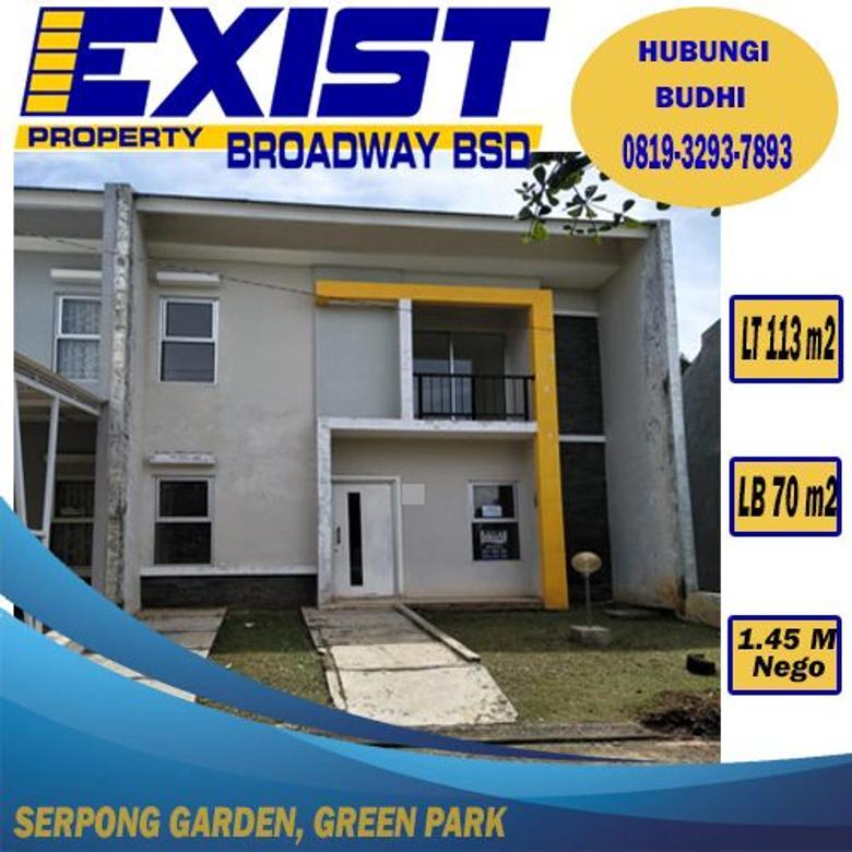 Rumahdijual! Serpong Garden, Green Park, Serpong Tangerang Sel