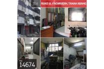 Ruko Jl. Fachrudin, Tanah Abang, Jakarta Pusat, 4,5x16m, 3½ Lt