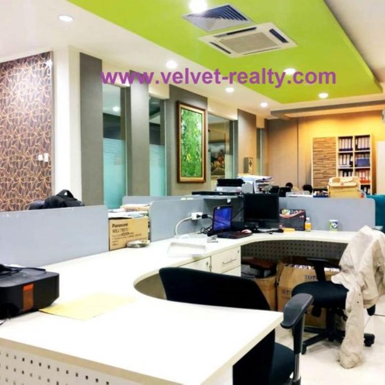 Dijual Gedung Office 4 Lantai Luas 996 M2 Dekat Jalan Raya Sun
