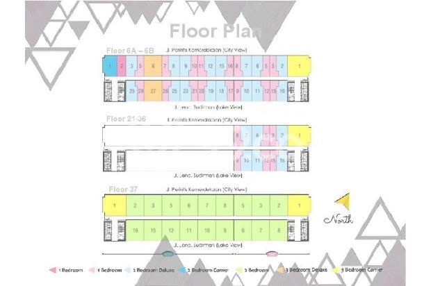 Dijual Apartemen 2BR Murah di Skandinavia TangCity Tangerang 13135089
