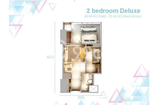 Dijual Apartemen 2BR Murah di Skandinavia TangCity Tangerang 13135049