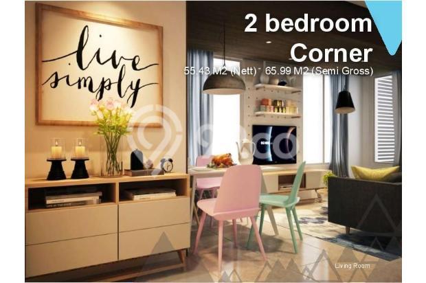 Dijual Apartemen 2BR Murah di Skandinavia TangCity Tangerang 13135056