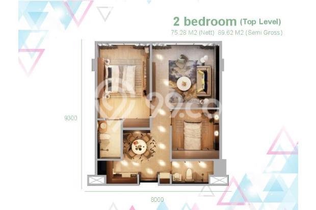 Dijual Apartemen 2BR Murah di Skandinavia TangCity Tangerang 13135063