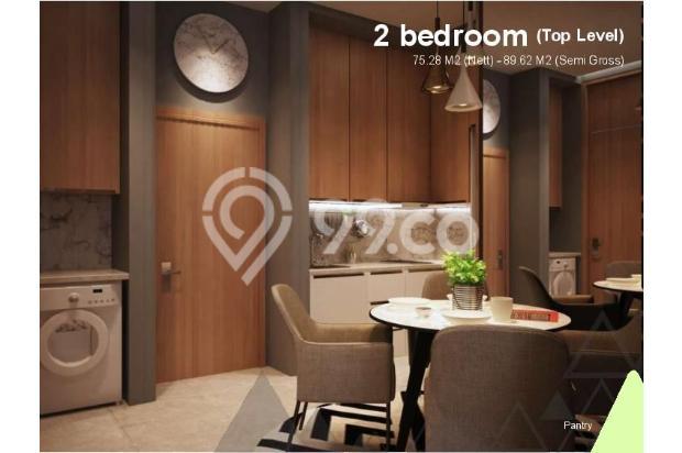 Dijual Apartemen 2BR Murah di Skandinavia TangCity Tangerang 13135066