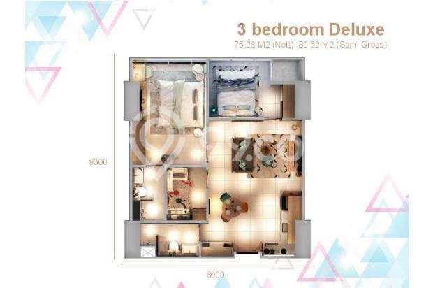 Dijual Apartemen 2BR Murah di Skandinavia TangCity Tangerang 13135078