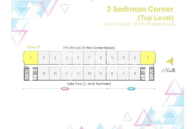 Dijual Apartemen 2BR Murah di Skandinavia TangCity Tangerang 13135084