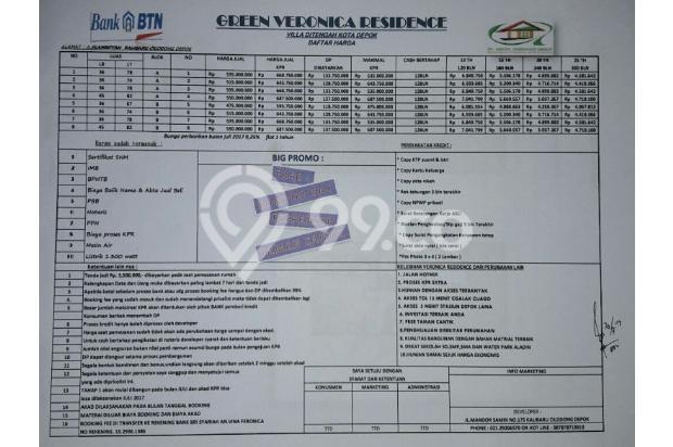 DiSini 4jt Punya Rumah Mewah Lokasi Strategis DiDepok 14317560
