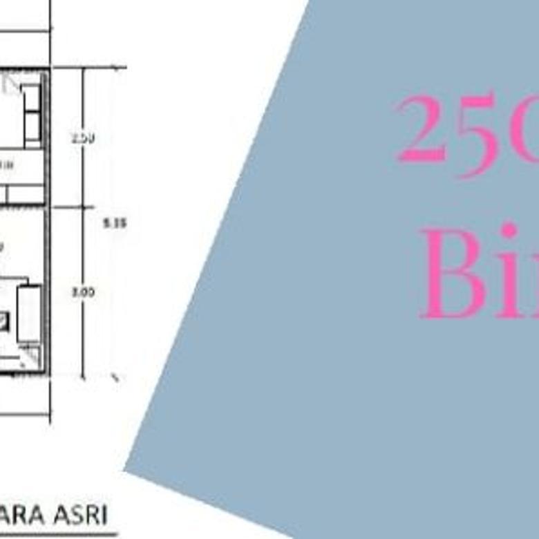Dijual rumah di Bintara dekat stasiun Cakung dan Jalan Baru
