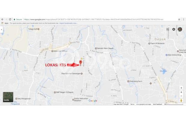 Tanah Kaveling Bedahan, Sawangan: SHM, Ukuran 90-an M2 14417046